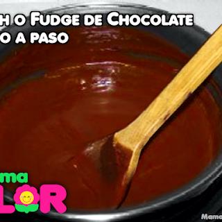 Cómo preparar Fosh de Chocolate, paso a paso (Fudge)