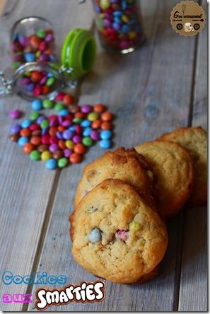 Cookies aux Smarties 3