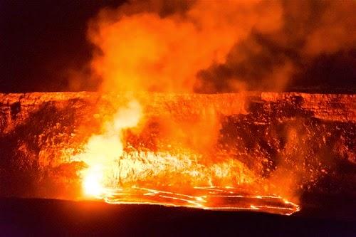 ハワイ島の火山