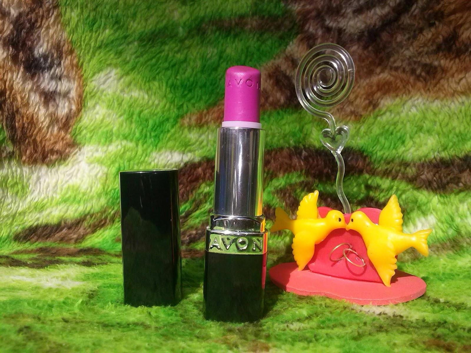 Resenha Batom Ultra Color Fúcsia Matte- Avon Pura Pose Marina Reis
