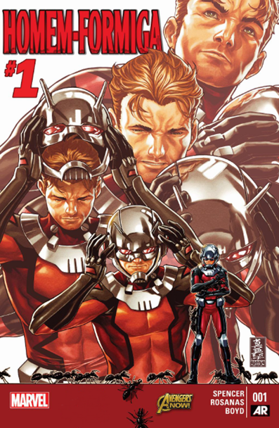 Homem-Formiga #1 - 2015 - quadrinhos