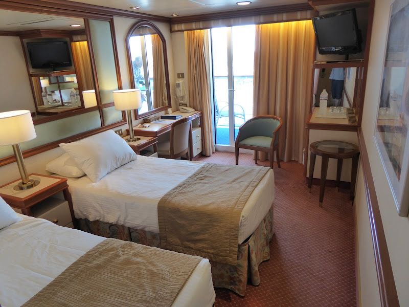 Coral Princess – A620 Balcony