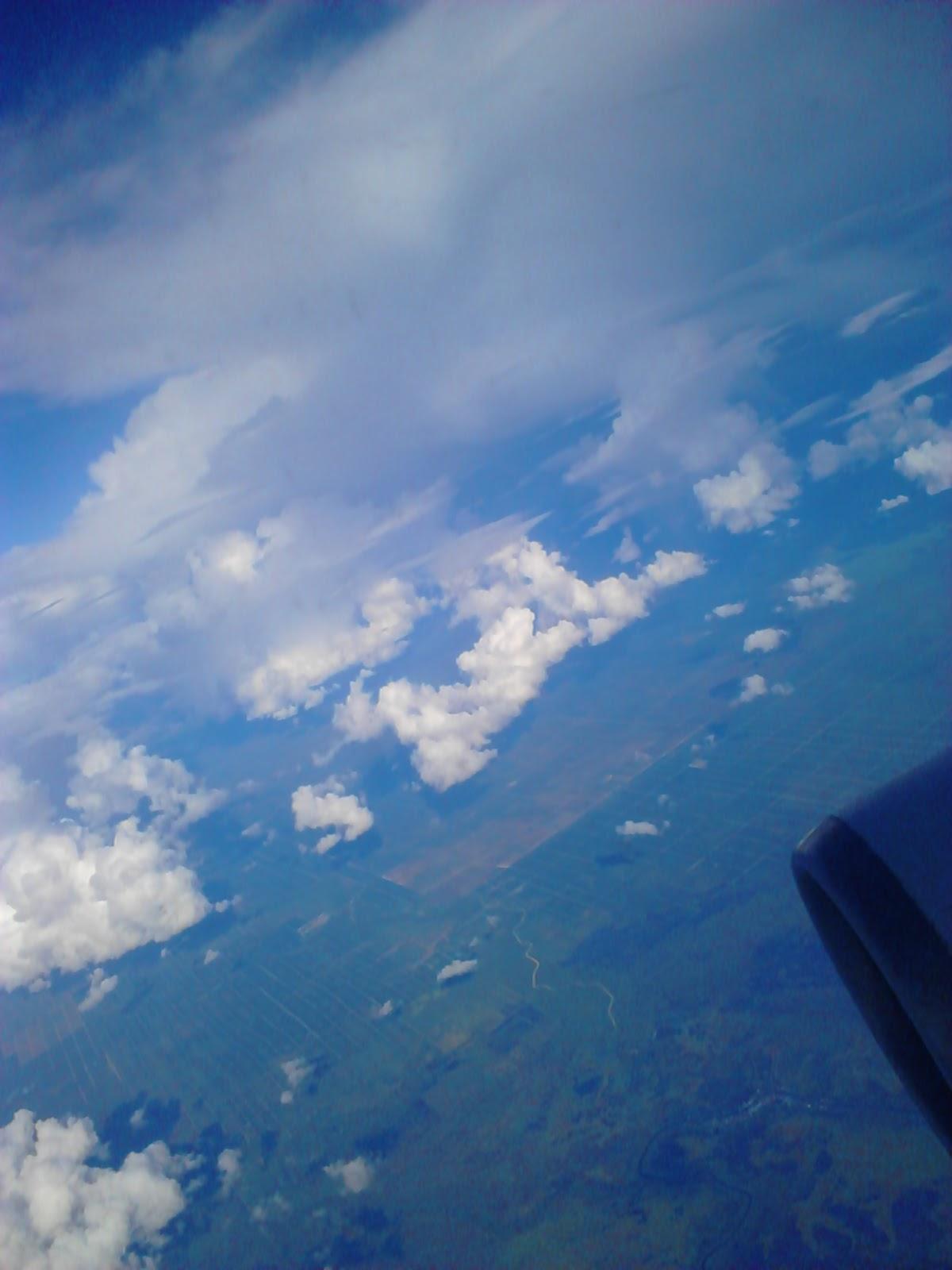 Foto Dalam Pesawat Awan Dari Dalam Pesawat