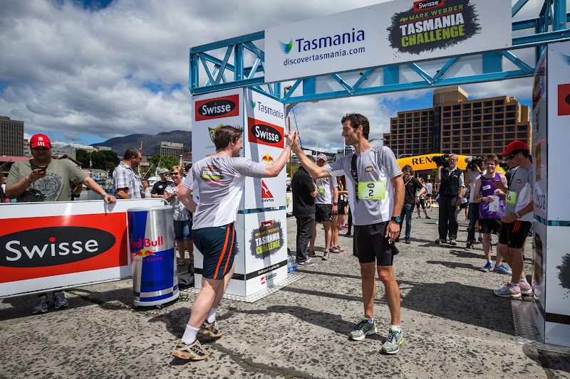 Марк Уэббер Тасмания Tasmania Challenge 1 декабря 2012
