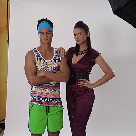 Daniel Matsunaga and Priscilla Mereilles