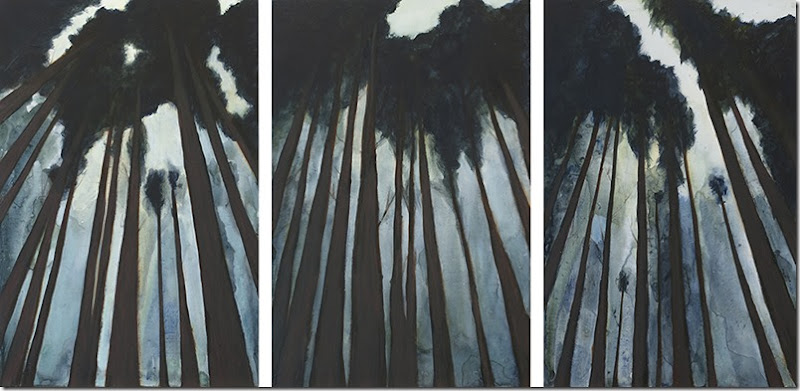 Jasmine Kamante - Redwoods Triptych 2