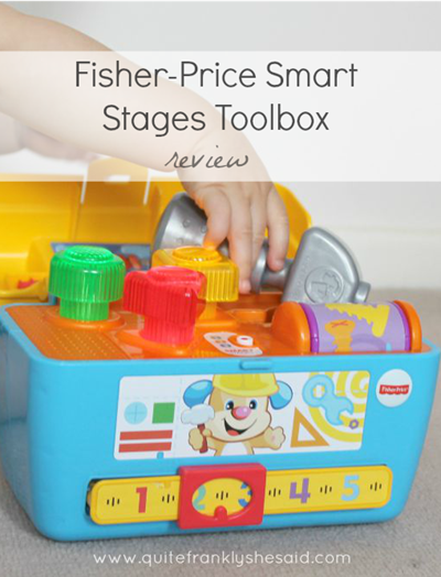 fisher-price smart stages tool box