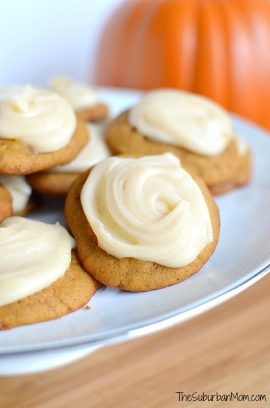 Iced-Pumpkin-Spice-Cookies