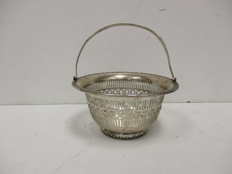 Sterling Silver Basket