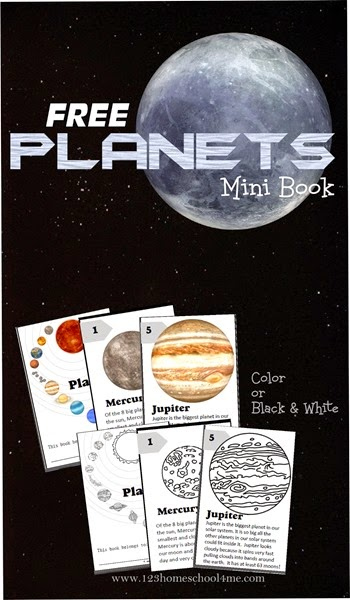free printable solar system booklet - photo #29