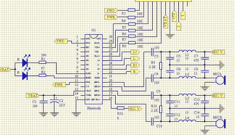 BC05AR_Schematic vcc2gnd com solusi rekayasa elektronika bluetooth stereo audio  at bakdesigns.co