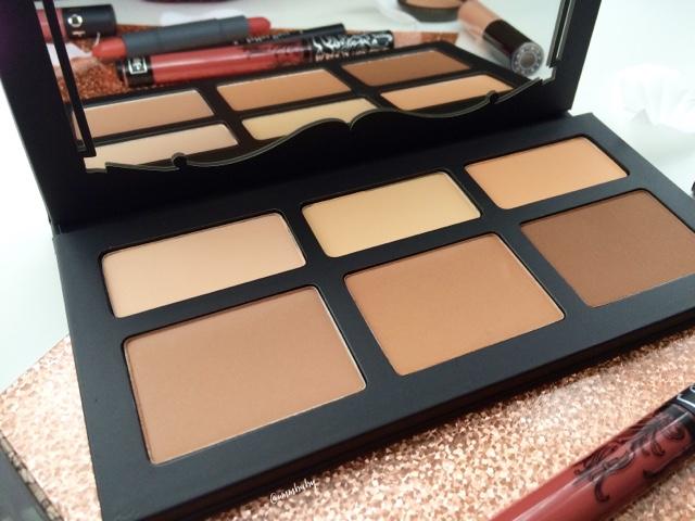 best contour palette, favourite contour palette kat von d NC40