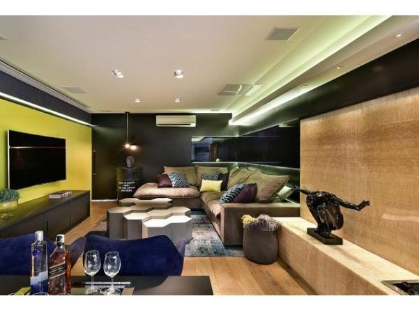 Lindo apartamento luxuoso de 177m² com 3 suites em Santo André.