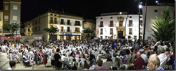 panorama concierto plaza
