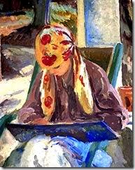 bell-una-chica-leyendo-pintores-y-pinturas-juan-carlos-boveri
