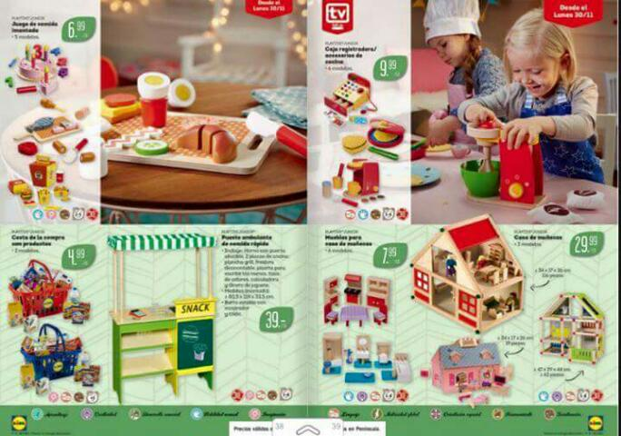 S per pt juguetes de madera en lidl for Cocina lidl madera