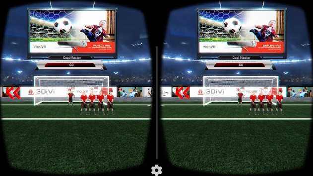 GoalMaster VR apk screenshot