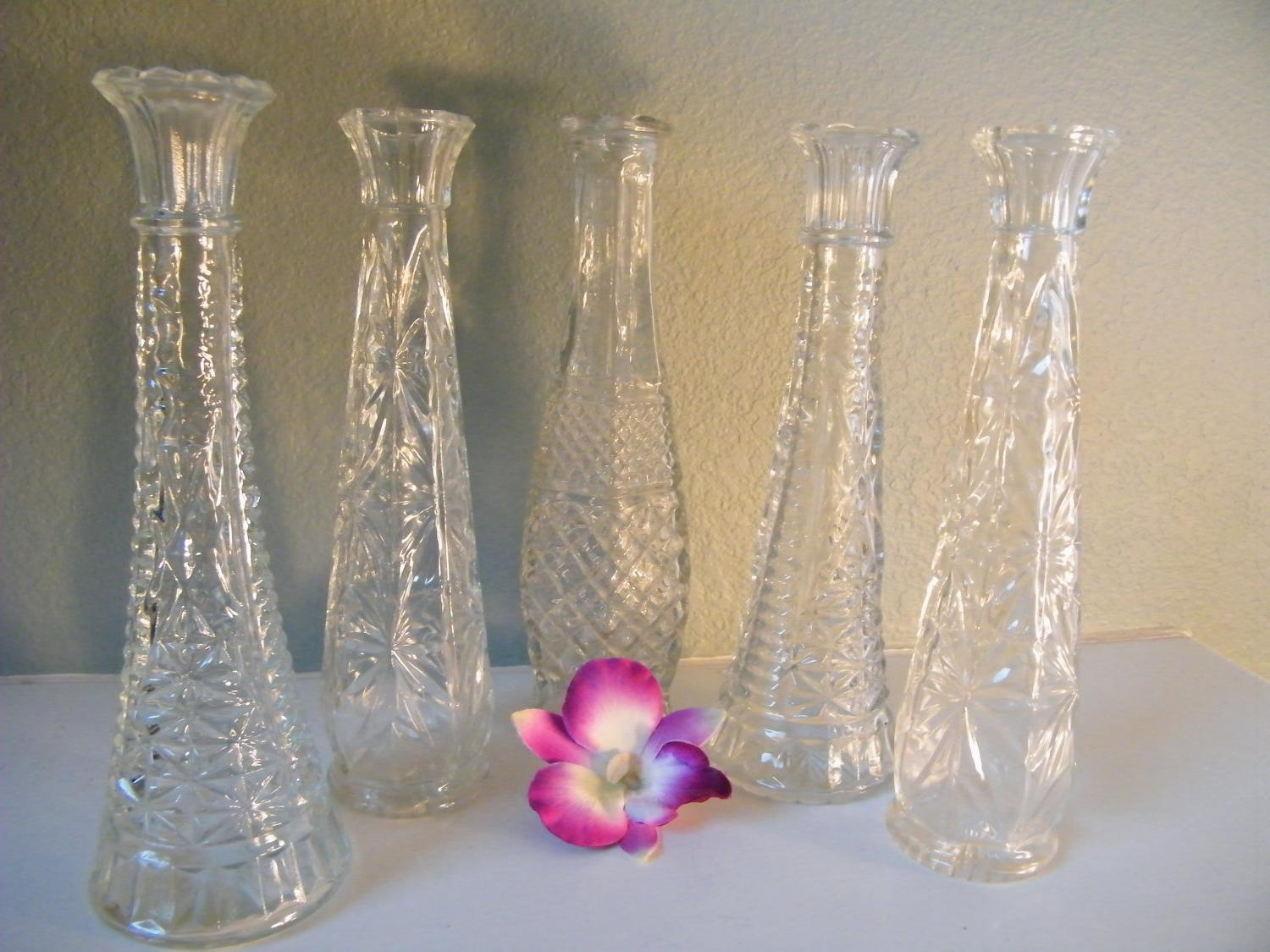 Vases-Wedding Reception Tables-Centerpiece-Vintage-Beach Wedding-Instant