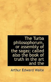 Cover of Arthur Edward Waite's Book Turba Philosophorum Or Assembly Of The Sages