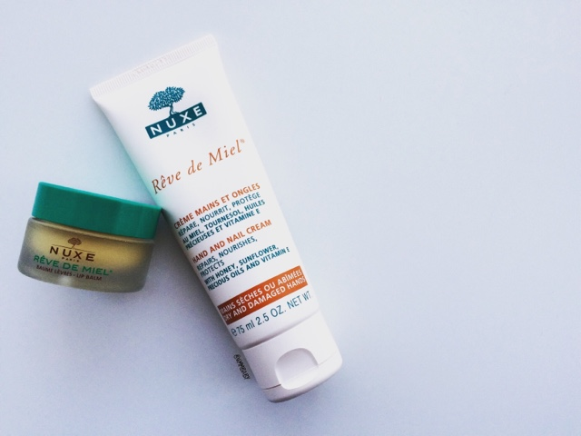Nuxe Reve De Miel Lip Balm and Hand & Nail Cream