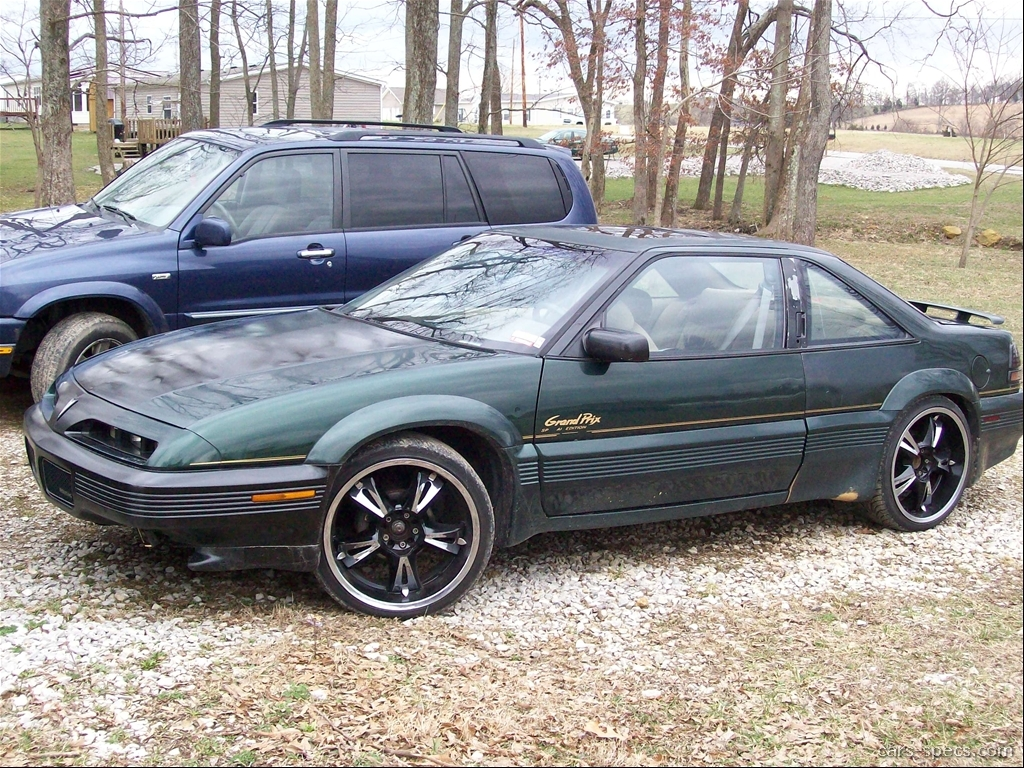 1992 pontiac grand prix coupe specifications pictures prices. Black Bedroom Furniture Sets. Home Design Ideas