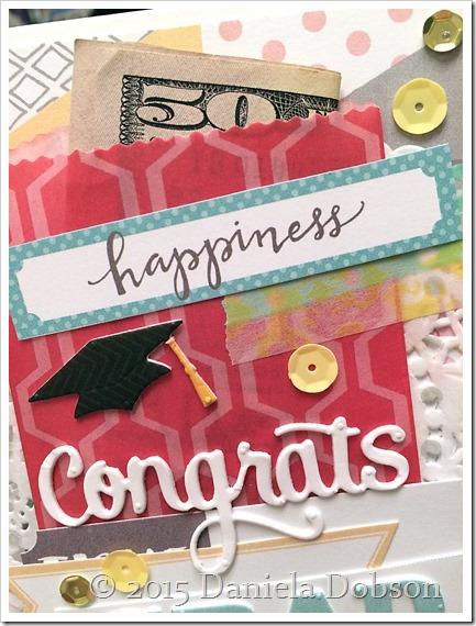 Congrats grad close by Daniela Dobson