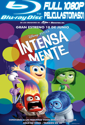 Intensa Mente (Inside Out) (2015) [BRRipFull 1080p/Dual Latino-ingles]