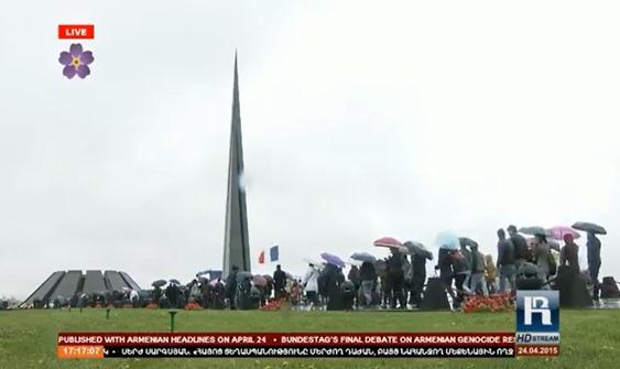 imatge de la commemoracion del genocidi dels Armenians 29