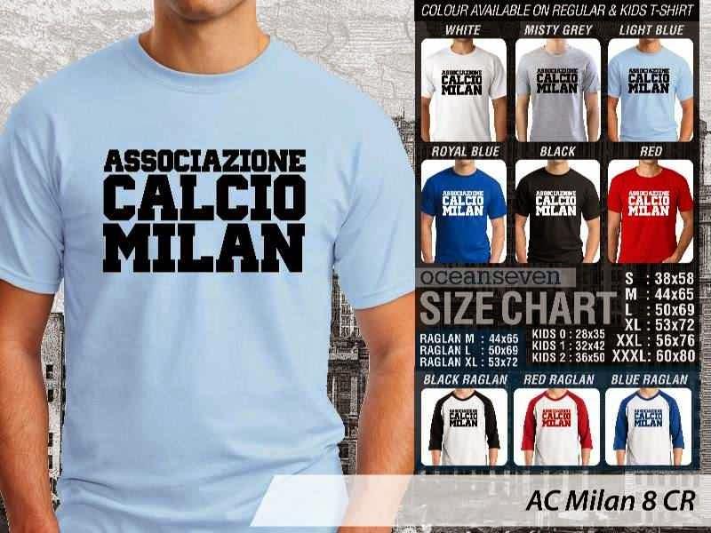 KAOS AC Milan 8 Lega Calcio distro ocean seven