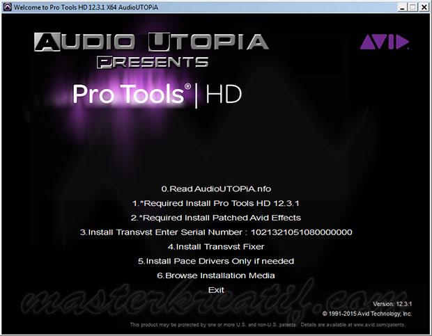 Avid Pro Tools HD 12.3.1