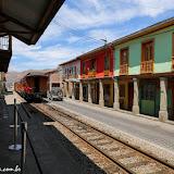 Trem turístico para o Nariz del Diablo - Alausí, Equador