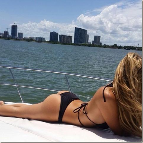 bacall sun bathing