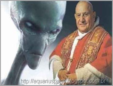 o-papa-extraterrestres