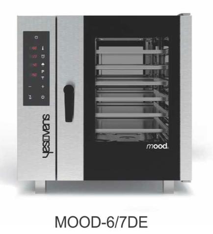 Alat Pemanggang Roti Combi Listrik Mood 6 Nampan (Combi Oven Mood) : MOOD-67DE