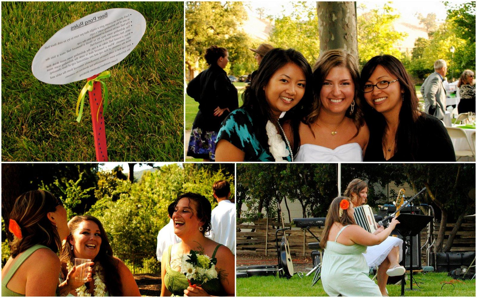 Outdoor Wedding Fun