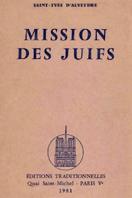 Cover of Saint Yves D'Alveydre's Book Mission des Juifs I,II (1981,in French)