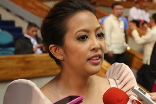 Image of Abigail Binay to Run as Mayor for Makati City