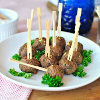 Mini Greek Meatballs Recipes