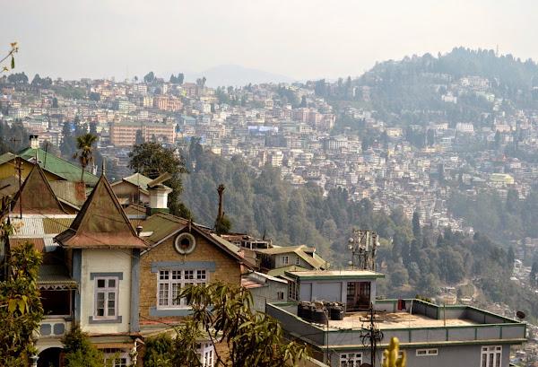 дарджилинг город панорама
