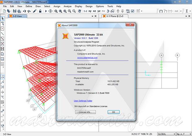 SAP2000 v18 Ultimate