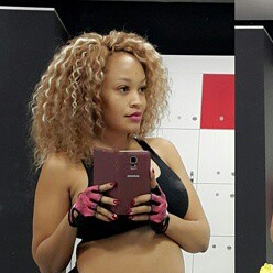ZARI HASSAN SHOWS OFF BABY BUMP.... LOOKS LIKE SHE'S ABOUT TO POP ANYTIME NOW.