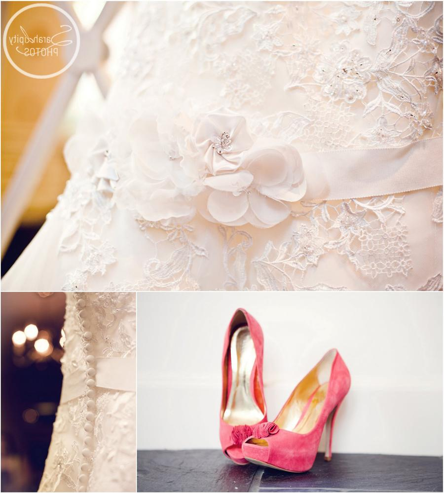 coral shoes for wedding