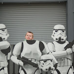 Bryan and the Storm Troopers in Hollywood Studios in Disney 06062011a