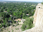 """woke up in billings montana today...so i walked to the edge of the cliff and took a picture...as dave says, """"you can't fix stupid"""""""