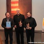 Los premiados de este año: Dúo Cuenca que recogieron el premio de D. Alberto López Poveda y Jesús Piles