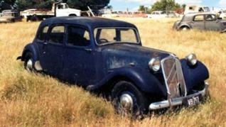 Citroen Traction 15-Six 1949