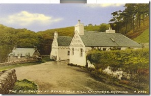 old smithy postcard