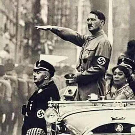 Lola Ni Dora with Hitler