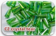 Czeck crystal tear