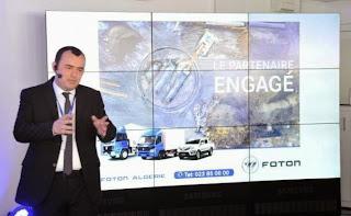 Marché de l'automobile, Le chinois Foton s'installe officiellement en Algérie